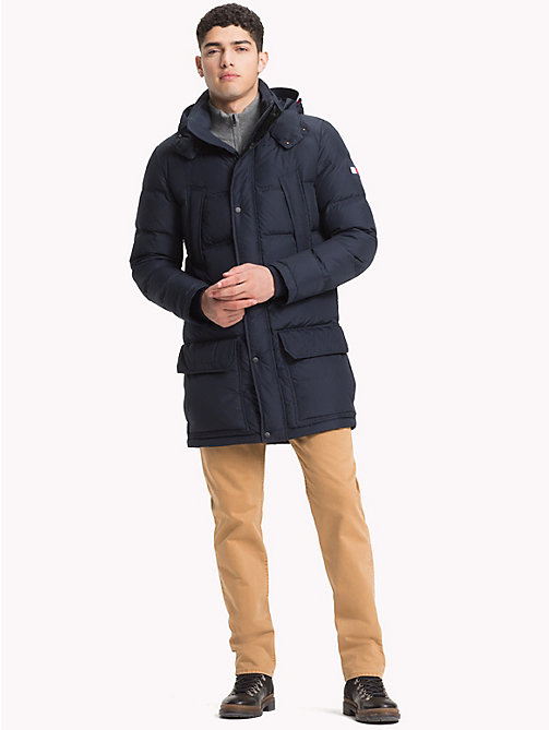 TOMMY HILFIGER Парка с капюшоном - 413-SKY CAPTAIN - TOMMY HILFIGER Парки - подробное изображение 1