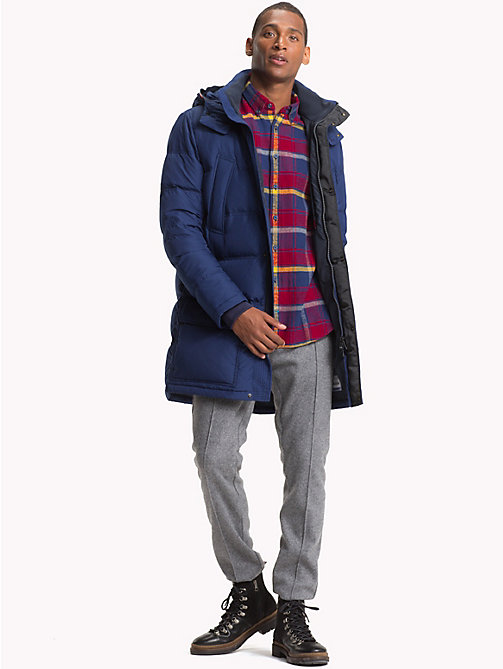 TOMMY HILFIGER Hooded Padded Parka - MEDIEVAL BLUE - TOMMY HILFIGER Coats & Jackets - detail image 1