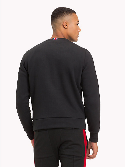 TOMMY HILFIGER Lewis Hamilton Flag Sweatshirt - JET BLACK - TOMMY HILFIGER TOMMY NOW MEN - detail image 1