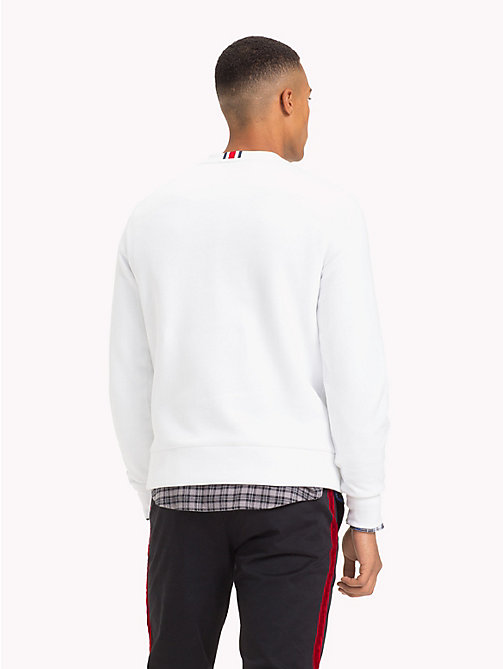 TOMMY HILFIGER Lewis Hamilton Flag Sweatshirt - BRIGHT WHITE - TOMMY HILFIGER Clothing - detail image 1