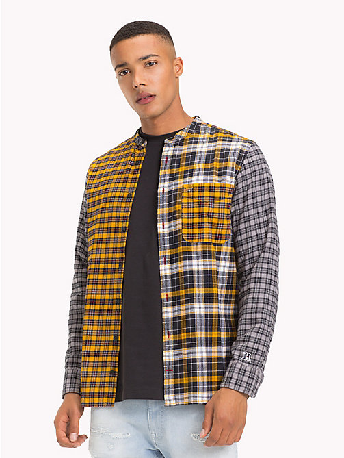 TOMMY HILFIGER Lewis Hamilton Check Shirt - GOLDEN YELLOW / MULTI - TOMMY HILFIGER TOMMYXLEWIS - detail image 1