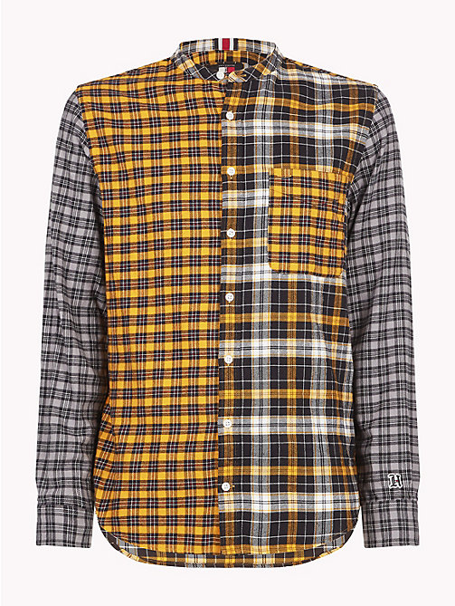 TOMMY HILFIGER Lewis Hamilton Check Shirt - GOLDEN YELLOW / MULTI - TOMMY HILFIGER TOMMYXLEWIS - main image
