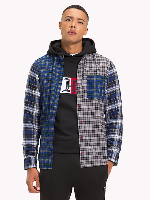 TOMMY HILFIGER Lewis Hamilton Check Shirt - SODALITE BLUE / MULTI - TOMMY HILFIGER TOMMY NOW MEN - detail image 1