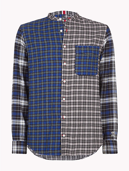 TOMMY HILFIGER Lewis Hamilton Check Shirt - SODALITE BLUE / MULTI - TOMMY HILFIGER TOMMY NOW MEN - main image
