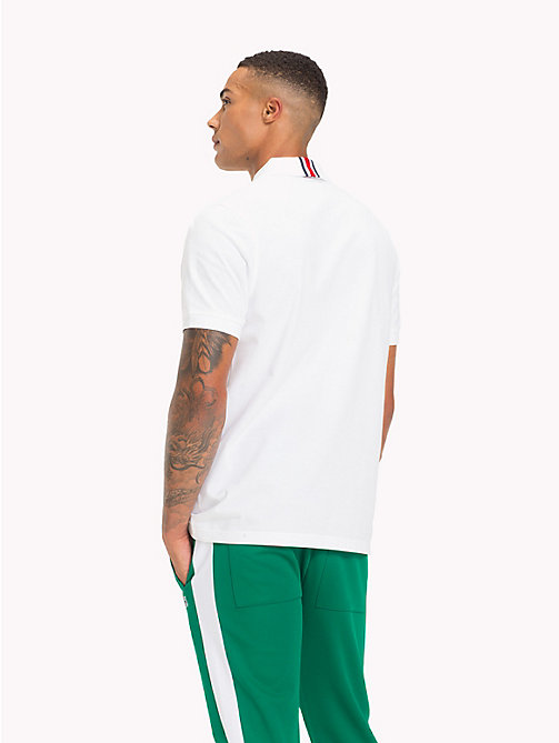 TOMMY HILFIGER Lewis Hamilton Logo Polo Shirt - BRIGHT WHITE - TOMMY HILFIGER TOMMY NOW MEN - detail image 1