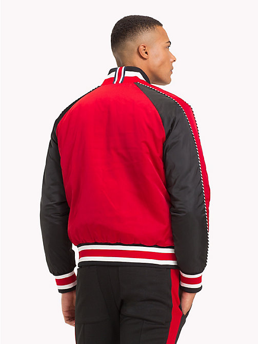 TOMMY HILFIGER Lewis Hamilton Reversible Bomber Jacket - BARBADOS CHERRY - TOMMY HILFIGER TOMMYXLEWIS - detail image 1