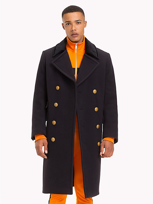 TOMMY HILFIGER Lewis Hamilton Military Coat - SKY CAPTAIN - TOMMY HILFIGER TOMMY NOW MEN - main image