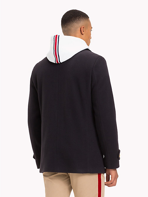 TOMMY HILFIGER Lewis Hamilton peacoat met legerlook - SKY CAPTAIN - TOMMY HILFIGER TOMMY NOW HEREN - detail image 1