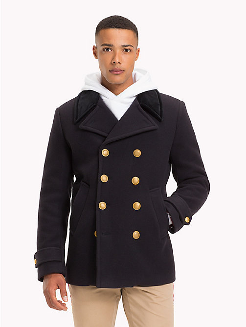 TOMMY HILFIGER Lewis Hamilton Military Peacoat - SKY CAPTAIN - TOMMY HILFIGER TOMMY NOW MEN - main image