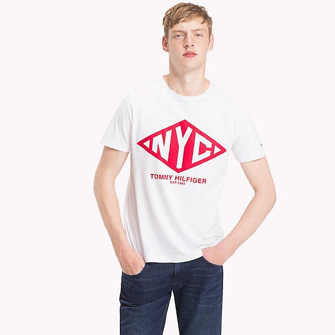 Camiseta de algodón orgánico con el logo de NYC  7f257174fed
