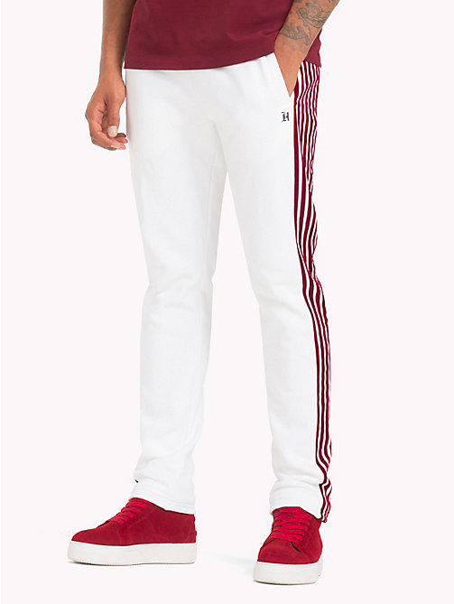 TOMMY HILFIGER Lewis Hamilton Trainingshose - BRIGHT WHITE - TOMMY HILFIGER TOMMY NOW HERREN - main image