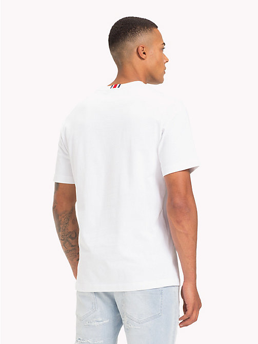 TOMMY HILFIGER Lewis Hamilton Flag T-Shirt - BRIGHT WHITE - TOMMY HILFIGER TOMMY NOW MEN - detail image 1