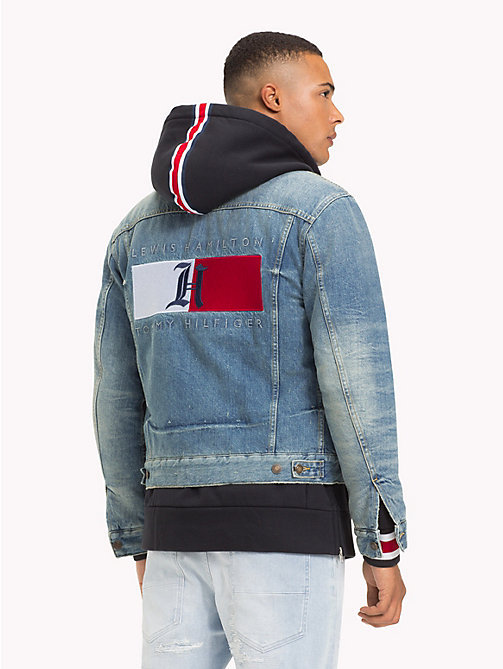 TOMMY HILFIGER Lewis Hamilton Denim Jacket - CORD/NYLON - TOMMY HILFIGER TOMMY NOW MEN - detail image 1