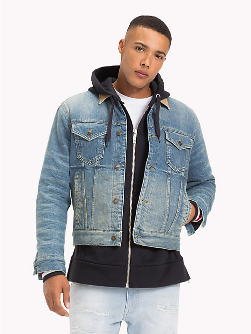 TOMMY HILFIGER Lewis Hamilton Denim Jacket - CORD/NYLON - TOMMY HILFIGER TOMMY NOW MEN - main image
