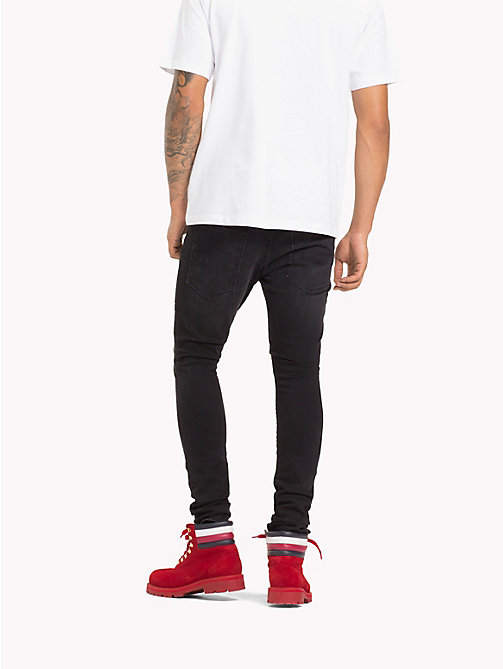 TOMMY HILFIGER Lewis Hamilton Stone Washed Jeans - BLACK STONE - TOMMY HILFIGER Kleidung - main image 1