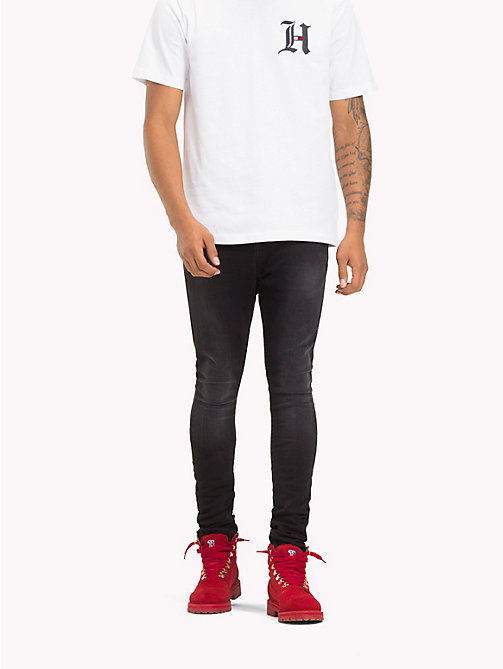 TOMMY HILFIGER Lewis Hamilton Stone Washed Jeans - BLACK/STONE - TOMMY HILFIGER TOMMY NOW MEN - main image