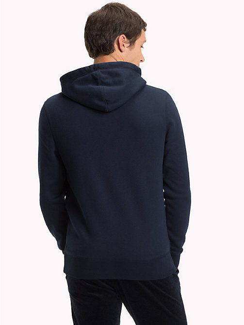 TOMMY HILFIGER Crest Hoody - SKY CAPTAIN - TOMMY HILFIGER NEW IN - detail image 1