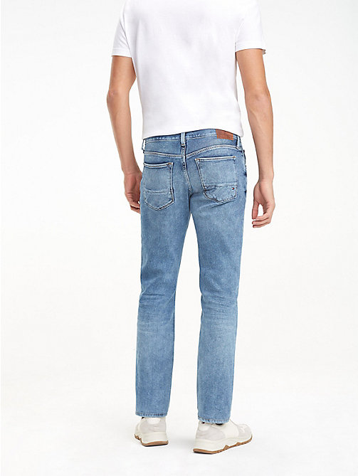 TOMMY HILFIGER Bleecker Faded Slim Fit Jeans - PAYETTE BLUE - TOMMY HILFIGER Slim-Fit Jeans - detail image 1