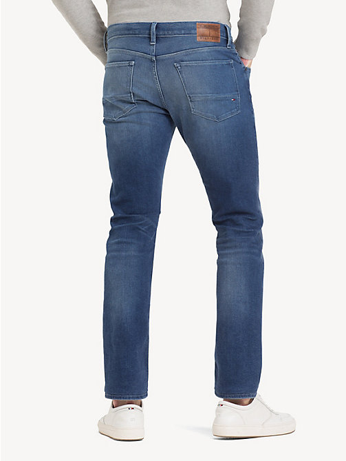 TOMMY HILFIGER Denton Straight Stretch Jeans - ELMORE INDIGO - TOMMY HILFIGER Straight-Fit Jeans - detail image 1