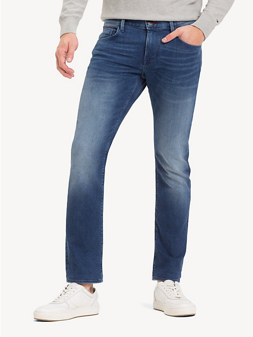 TOMMY HILFIGER Denton Straight Stretch Jeans - ELMORE INDIGO - TOMMY HILFIGER Straight-Fit Jeans - main image
