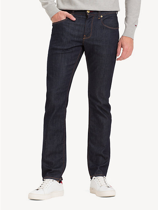 TOMMY HILFIGER Denton Straight Fit Jeans - DURABLE BLUE - TOMMY HILFIGER Straight-Fit Jeans - main image