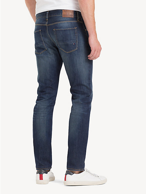 TOMMY HILFIGER Denton TH Flex Straight Fit Jeans - DURABLE WASH - TOMMY HILFIGER Straight-Fit Jeans - detail image 1