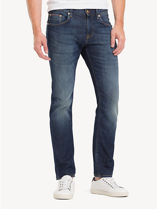 TOMMY HILFIGER Denton TH Flex Straight Fit Jeans - DURABLE WASH - TOMMY HILFIGER Straight Fit Jeans - main image