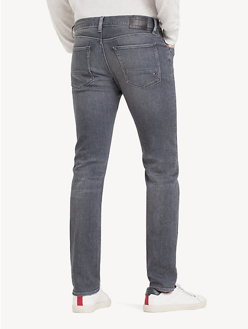 TOMMY HILFIGER Bleecker TH Flex Slim Fit Jeans - CUSTER GREY - TOMMY HILFIGER NEW IN - detail image 1