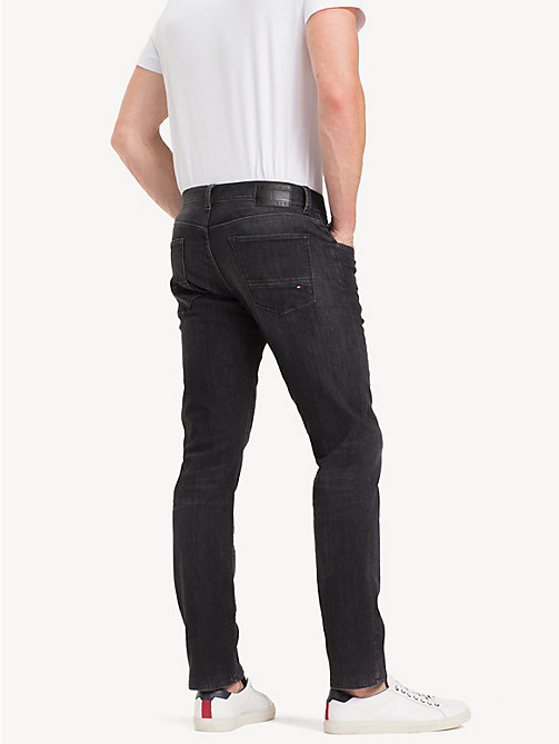 TOMMY HILFIGER Denton Straight Fit Jeans - ARIMO BLACK - TOMMY HILFIGER NEW IN - main image 1
