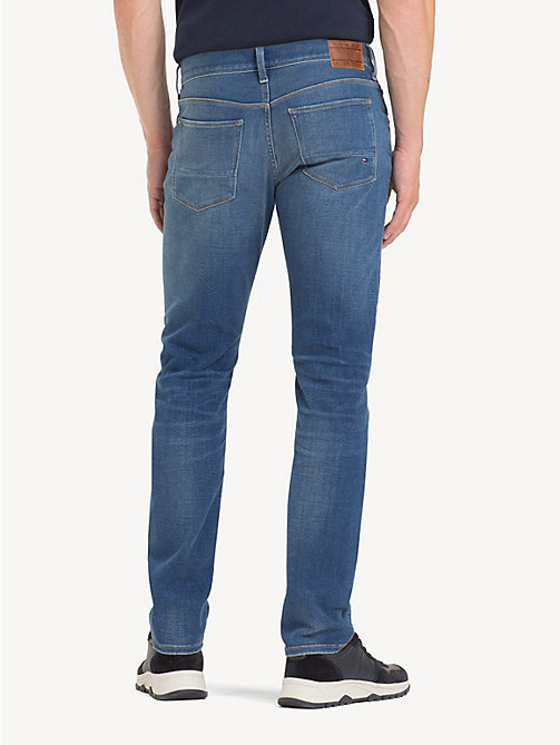 TOMMY HILFIGER Bleecker TH Flex Slim Fit Jeans - DECLO BLUE - TOMMY HILFIGER NEW IN - detail image 1