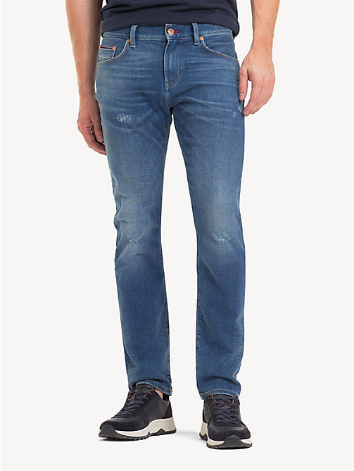 TOMMY HILFIGER Bleecker TH Flex Slim Fit Jeans - DECLO BLUE - TOMMY HILFIGER NEW IN - main image