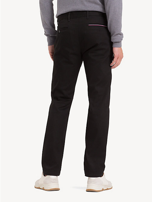 TOMMY HILFIGER Relaxed Fit Stretch Chinos - CLEAN BLACK - TOMMY HILFIGER Regular-Fit Jeans - detail image 1