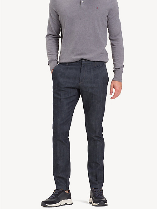 TOMMY HILFIGER Denton Straight Fit Jeans - INDIGO - TOMMY HILFIGER Straight-Fit Jeans - main image