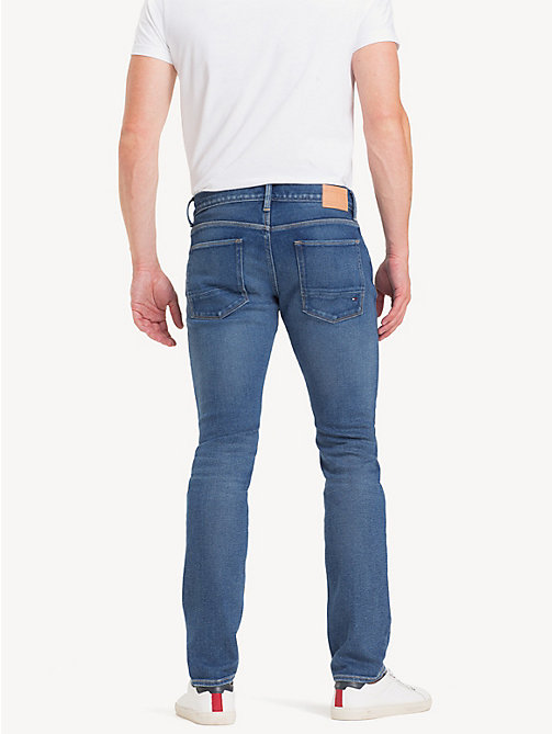 TOMMY HILFIGER Denton Straight Fit Jeans - IMPERIAL BLUE - TOMMY HILFIGER Straight-Fit Jeans - detail image 1