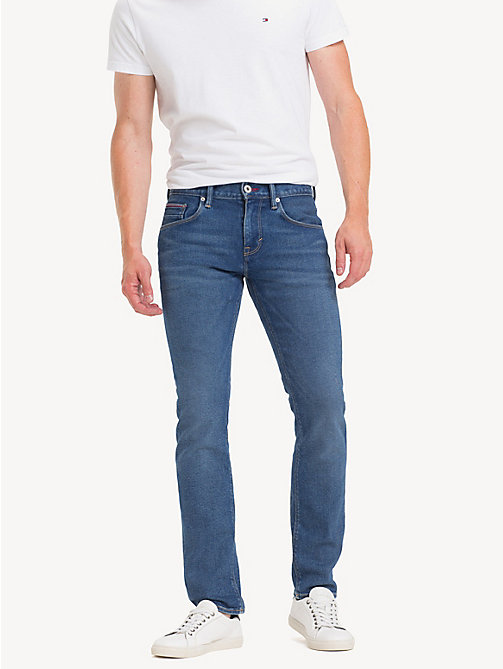 TOMMY HILFIGER Denton Straight Fit Jeans - IMPERIAL BLUE - TOMMY HILFIGER Straight-Fit Jeans - main image