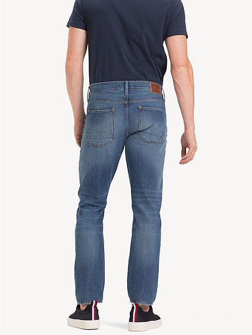 TOMMY HILFIGER Denton TH Flex Straight Fit Jeans - NOTUS BLUE - TOMMY HILFIGER NEW IN - detail image 1