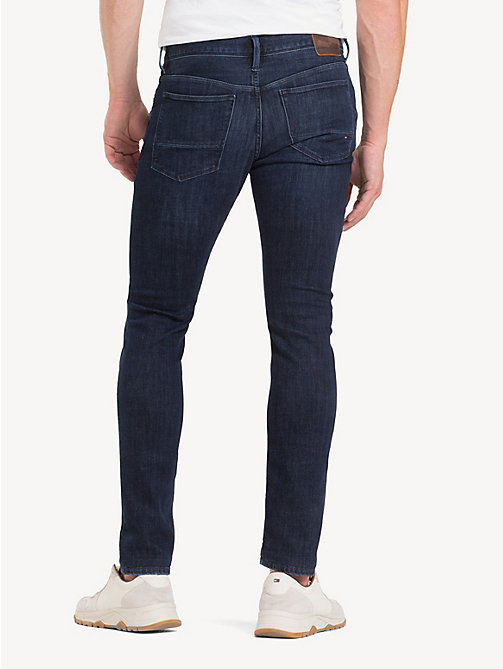 TOMMY HILFIGER Layton TH Flex Extra Slim Fit Jeans - ENAN BLUE - TOMMY HILFIGER Slim-Fit Jeans - detail image 1