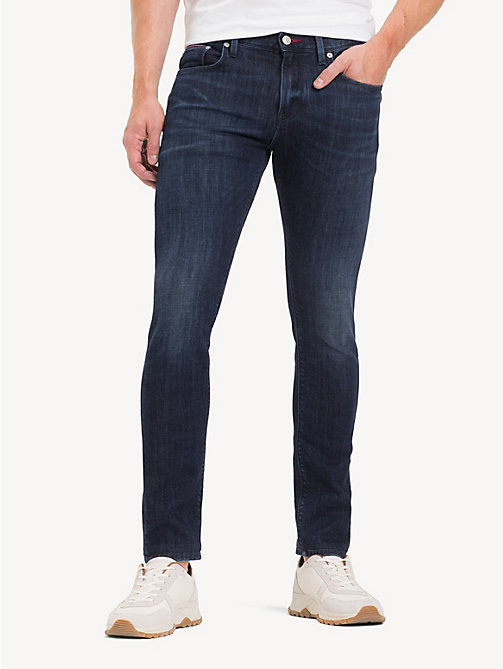 TOMMY HILFIGER Layton TH Flex Extra Slim Fit Jeans - ENAN BLUE - TOMMY HILFIGER Slim-Fit Jeans - main image
