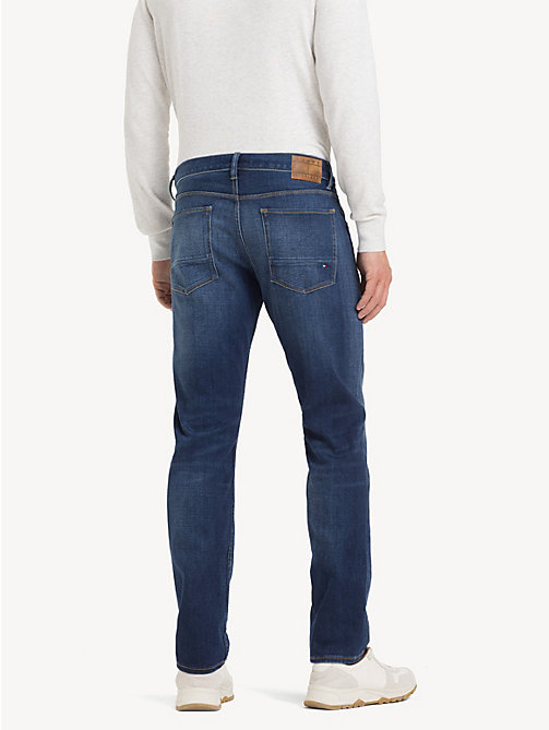 TOMMY HILFIGER Denton TH Flex Straight Fit Jeans - STITES BLUE - TOMMY HILFIGER NEW IN - detail image 1