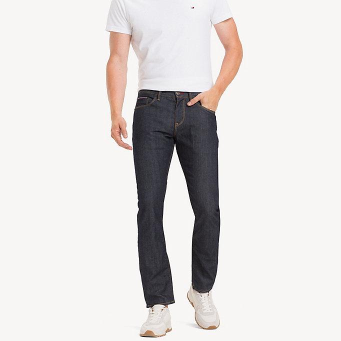 tommy hilfiger herren jeans bleecker slim fit beige