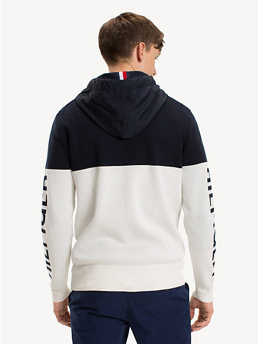 TOMMY HILFIGER Nautical Logo Hoody - SNOW WHITE - TOMMY HILFIGER NEW IN - detail image 1