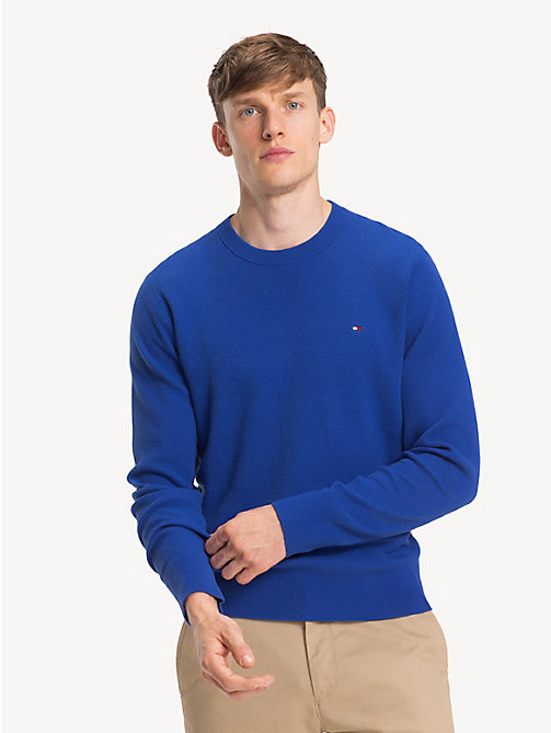 TOMMY HILFIGER Crew Neck Sweater - SURF THE WEB -  NEW IN - main image