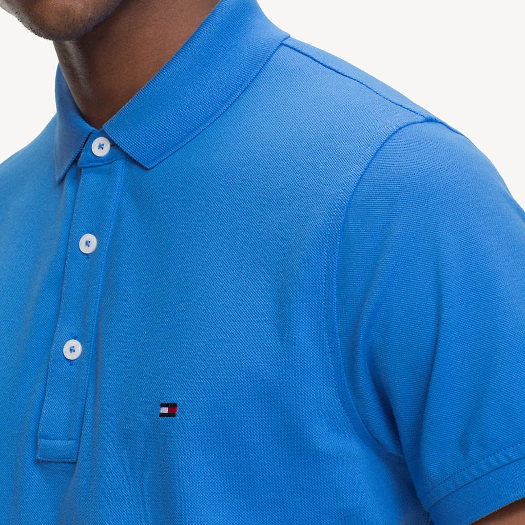 Tommy Hilfiger - Pure Cotton Slim Fit Polo - 4