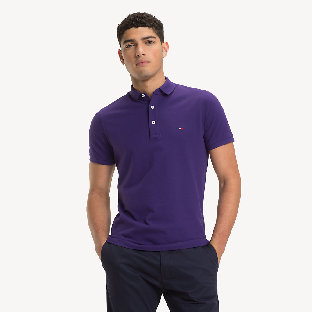 Tommy Hilfiger - Pure Cotton Slim Fit Polo - 1