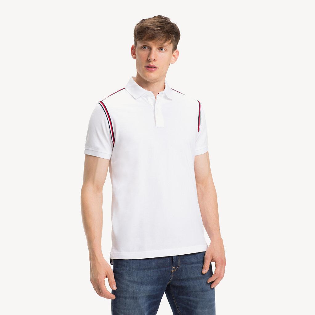 Tommy Hilfiger - Pure Cotton Slim Fit Polo Shirt - 1