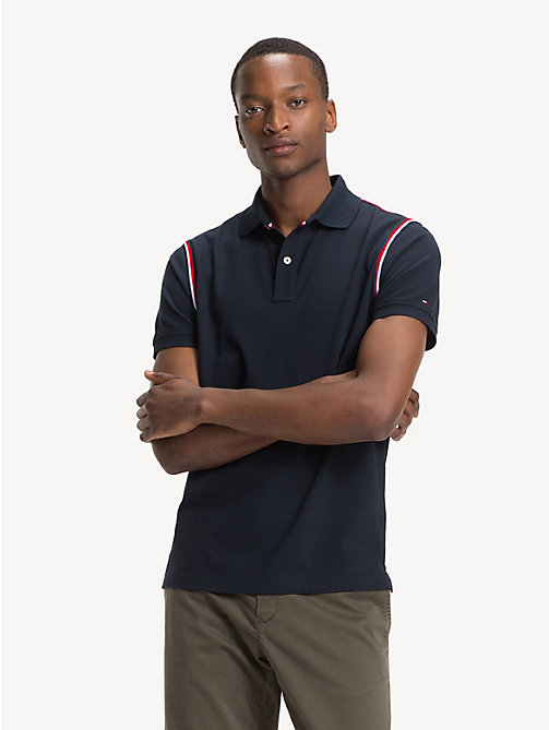 TOMMY HILFIGER Polo slim fit in puro cotone - SKY CAPTAIN -  Polo - immagine principale