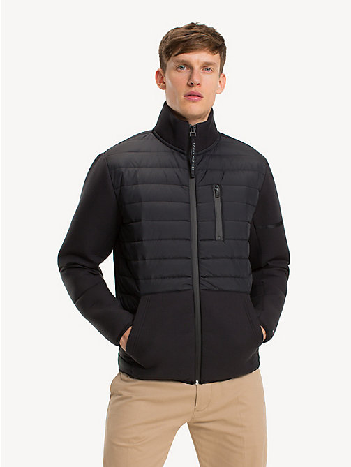 TOMMY HILFIGER Padded Zip-Thru Jacket - JET BLACK - TOMMY HILFIGER Sweatshirts - main image