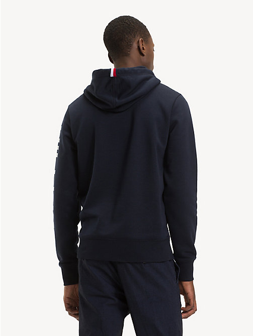 TOMMY HILFIGER Logo Drawstring Hoody - SKY CAPTAIN - TOMMY HILFIGER NEW IN - detail image 1