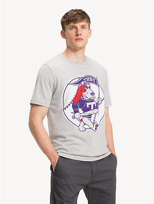 TOMMY HILFIGER Mascot Logo T-Shirt - CLOUD HTR - TOMMY HILFIGER Sustainable Evolution - main image