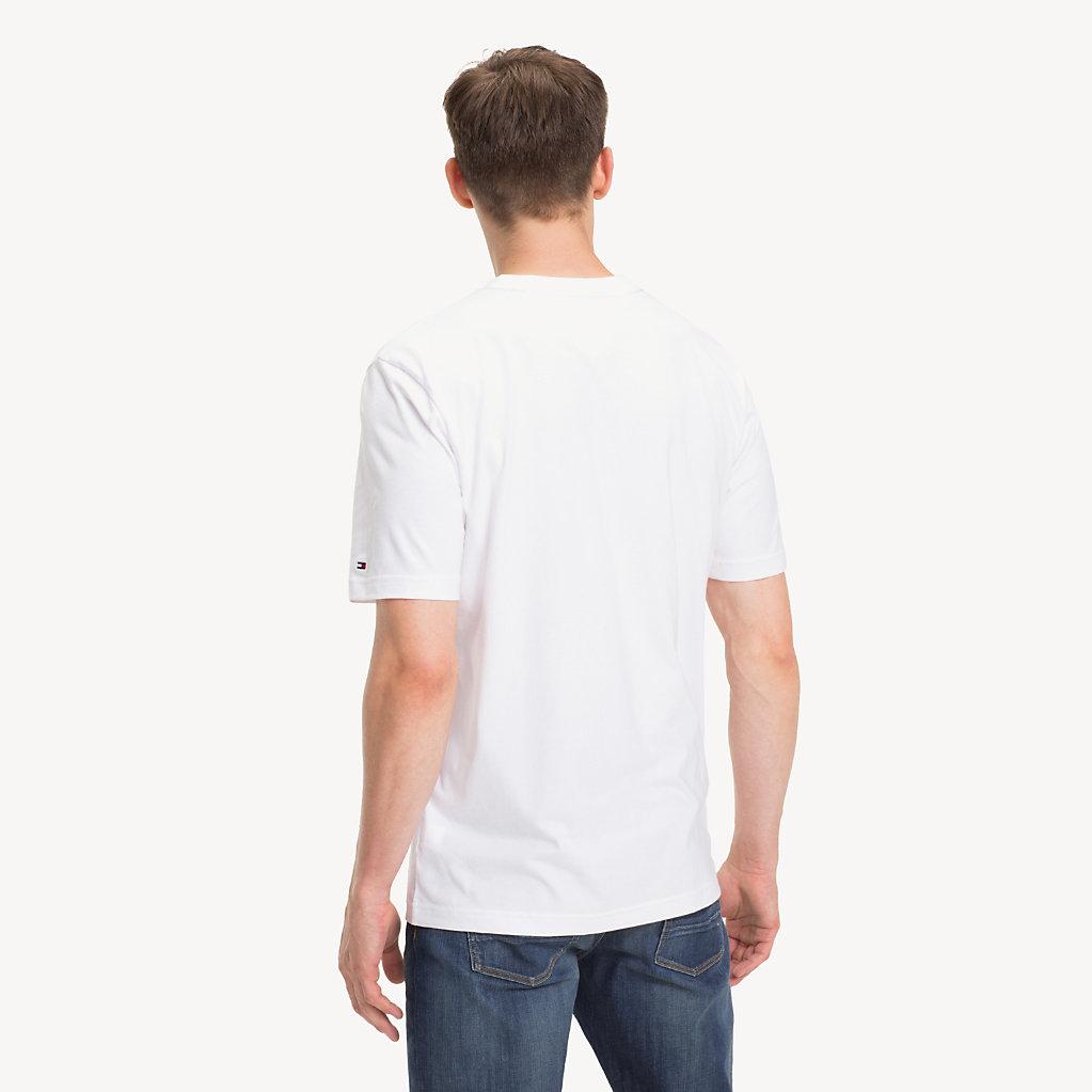 Tommy Hilfiger - T-Shirt mit American-Football-Logo - 2